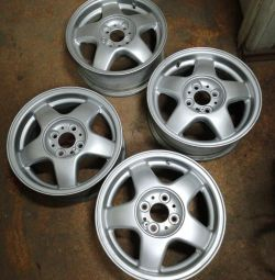 set of alloy wheels for 14 4/98