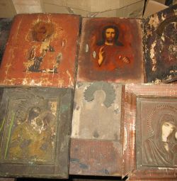 Antika 6 adet simgeleri