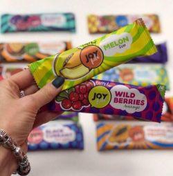 Fruit low-calorie bar