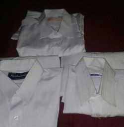 Shirts for schoolboys used