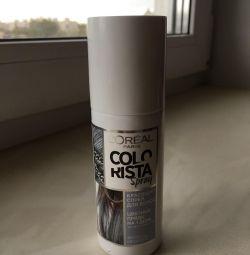 Spray paint L'Oréal colorista