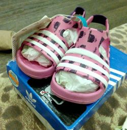 New Adidas Rubber Sandals