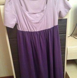 Hamile ve emzikli için elbise