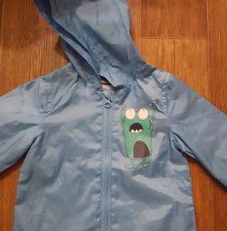 Windbreaker raincoat jacket