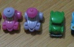 Kinder Surprise Hippo Soldiers Motorcycle Cars