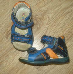 Ортопедичні сандалі з натуральної шкіри