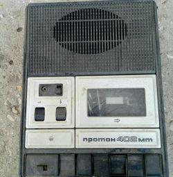 1 tape recorder