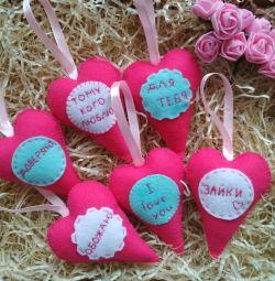 Valentines moale handmade