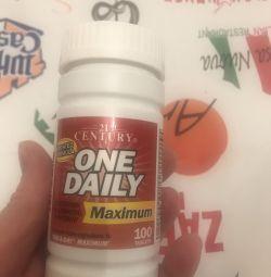 Мультивітаміни для дорослих 100 штук оригінал
