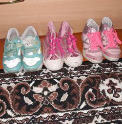Un pachet de pantofi pentru copii 28,29,30 cizme, adidași, cro
