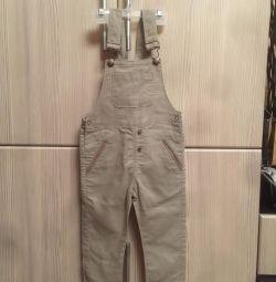 Babygo Linen Jumpsuit