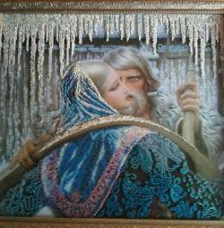 Pictura K.Vasilyeva beadwork.