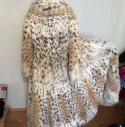 Lynx fur coat of the Italian brand BRASCHI