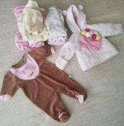 Συσκευασία των πραγμάτων για το μωρό! 0-4mes.