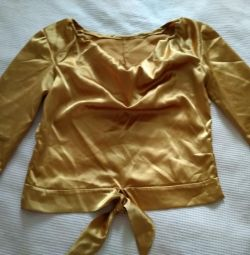 Χρυσή μπλούζα 42-44ρ