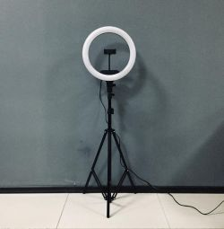 36 cm annular lamp with touch panel (AL-360)
