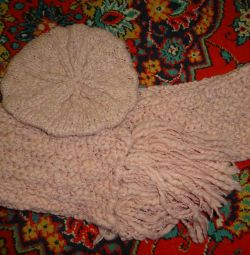 Selling a new set - a scarf and takes Wool Street