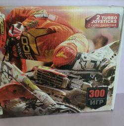 Κονσόλα παιχνιδιών Dendy 300 ενσωματωμένα παιχνίδια