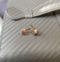 Χρυσά σκουλαρίκια για κορίτσι
