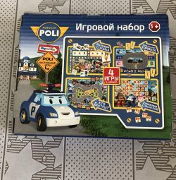 Game set Robocar Poli. New