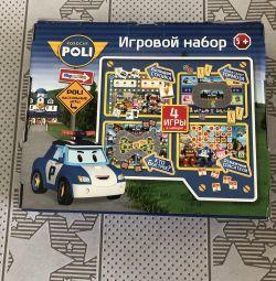 Παιχνίδι set Robocar Poli. Νέα