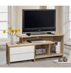 TELEVISION FURNITURE 2 HM2212.01 SONAMA-WHITE DRAWER