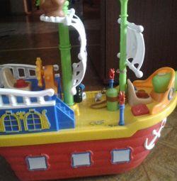 Nava pirat, premiul Fisher