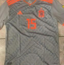 Στολές ποδοσφαίρου Ισπανία Ισπανία νέα.15 Ramos