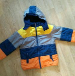 Jacket fall-spring 116-122 6-7 years