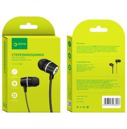 Ακουστικά DRM-SE2-01 μαύρο DREAM