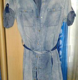 Φόρεμα τζιν μέγεθος 44-46