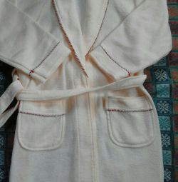 Bathrobe for height 150 cm