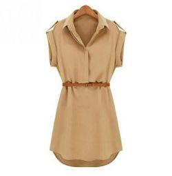 Φόρεμα-πουκάμισο πουκάμισο