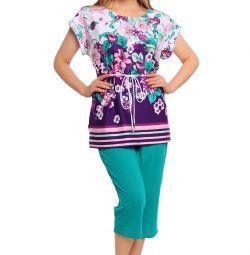 Costum Feminin Verde (primavara)