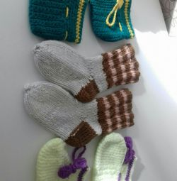 Booties all 50 rubles. New