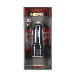 CC-201 Черная 2 USB 2.1A Remax