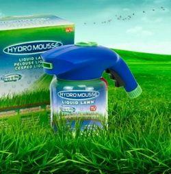 Gazon lichid Hydro Mousse cu semințe + cadou