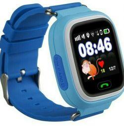 Baby GPS ρολόι μωρού ρολόι Q80