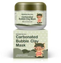Піниться, грязьова, коллагеновая маски для обличчя.