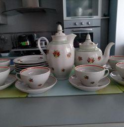 Serviciu de ceai și cafea. Dulevo