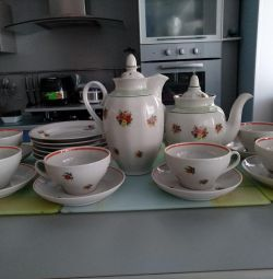 Tea and coffee service. Dulyovo