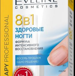 EVELINE NAIL THERAPY PROFESSIONAL Healthy Nails 8
