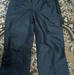 Pantaloni pentru salopete pentru barbati.