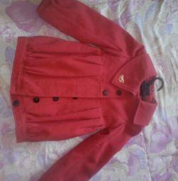 κόκκινο παλτό