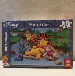 Puzzle-uri noi 160 de piese. Disney.
