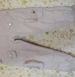 Breeches with low waist size. S
