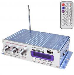 Amplifier + FM receiver + USB + SD + remote control