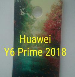 Huawei Y6 prime 2018 чехол