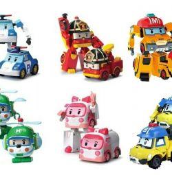 Robocar Poly transformer