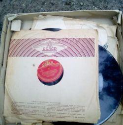 Înregistrări gramofon, 8 buc.